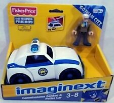 DC Super Friends Imaginext Commissioner Gordon & Police Car With Lights & Sound