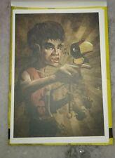 李小龙彩色明信片 Bruce Lee 75th Birthday Pictorial Full Color Post Card #11 Enggang Ubah