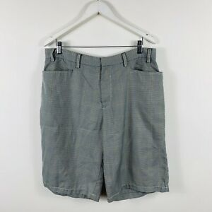 Quiksilver-Mens-Shorts-Size-36-Grey-Good-Condition-With-Pockets
