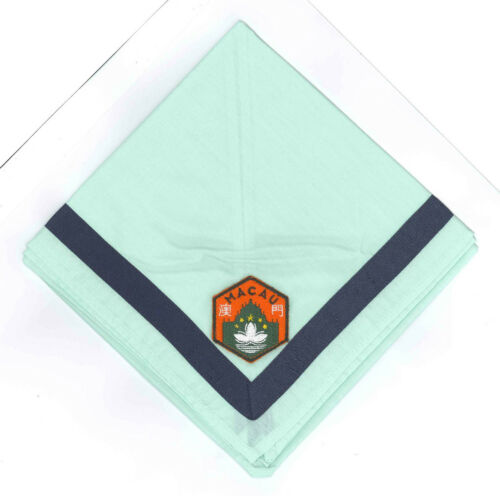 Official Overseas Contingent Scout Neckerchief // Scarf MACAO SCOUTS MACAU