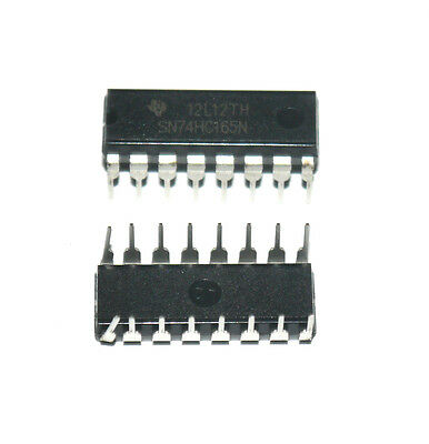 10pcs 74HC165 74165 IC 8-Bit Parallel-In/Serial-Out SHIFT REGISTER DIP-16 IC hym