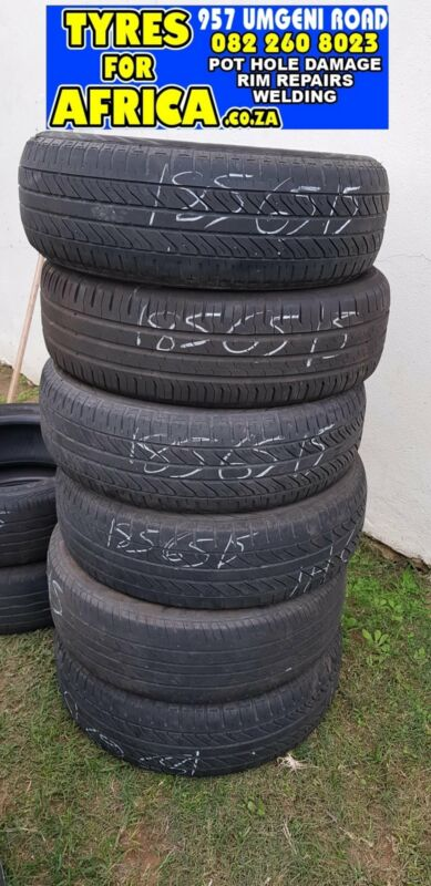 185 65 15 inch x4 tyres R350 each fitted at Tyres for Africa