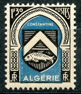 Topical Stamps Stamps Timbre Algerie Neuf N° 257 ** Armoirie Invigorating Blood Circulation And Stopping Pains