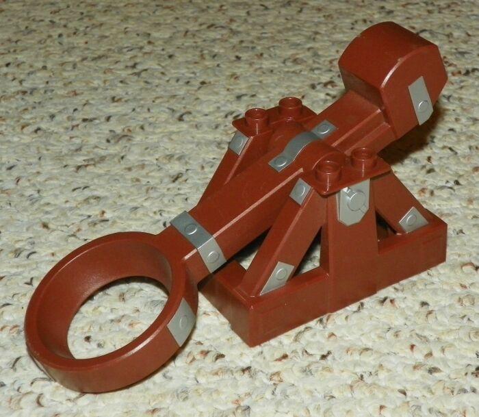 Lego - duplo - komplette katapult komplette - montage - rotbraune 66c473