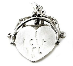 STERLING-SILVER-LARGE-I-LOVE-YOU-SPINNER-FOB-CHARM