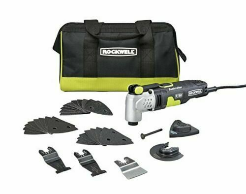 NEW Rockwell RK5142K Universal Fit Sonicrafter F50 Oscillating Tool 33 PIECE KIT