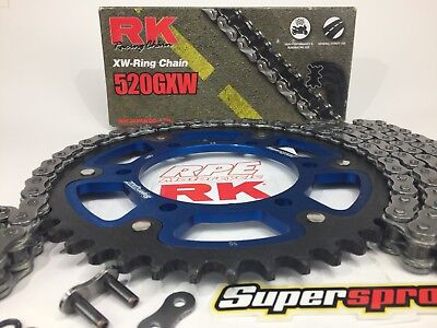 2009-2014 Yamaha YZF-R1 RK GXW 520 Chain and JT Sprockets Kit