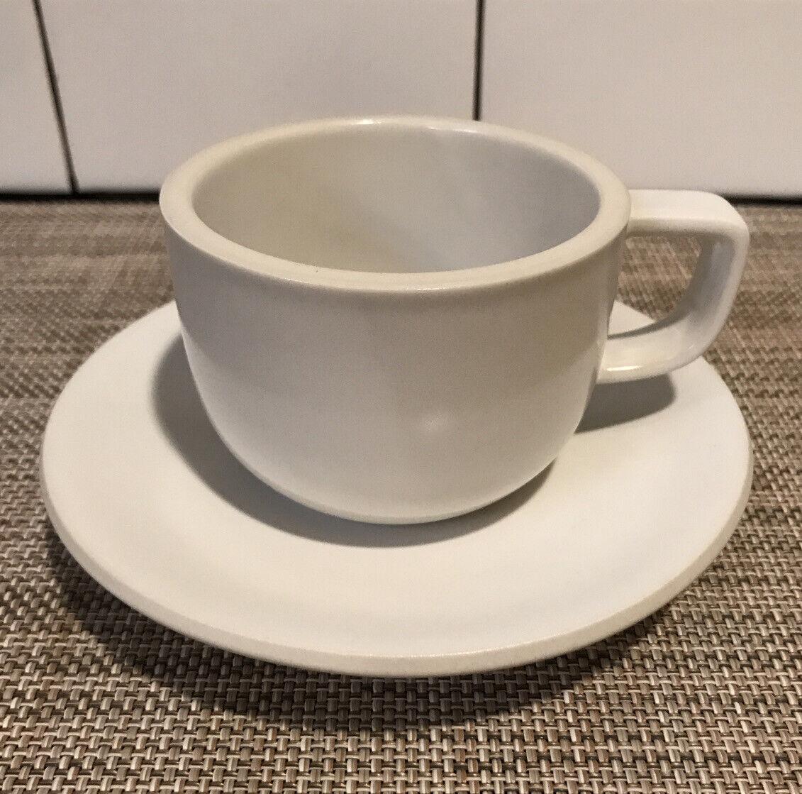 Flat Cups /& Saucers Colorstone TWO Purple Japan 2 PLUM Sasaki