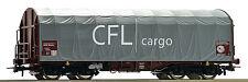 ROCO 76444 Schiebeplanwagen CFL Coiltransp. Auf Wunsch Achstausch Märklin gratis