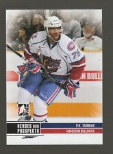 (56665) 2009-10 ITG HEROES and PROSPECTS P.K. SUBBAN #64