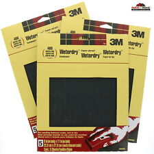 3M 400 Wet-Or-Dry Sandpaper 5Pk