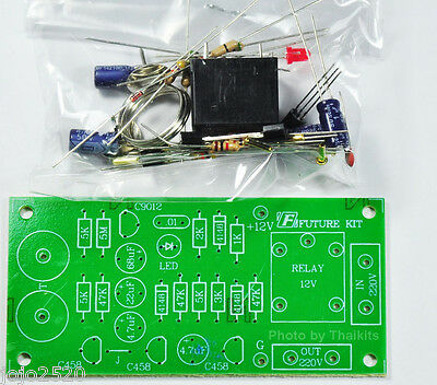Electronic Touch Switch On-Off Unassembled Kit board 12VDC Relay 5A [FK405]