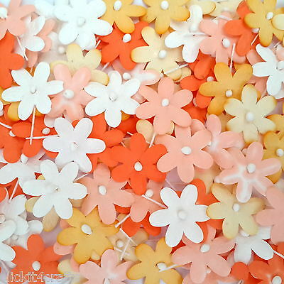 100 Paper Flowers Scrapbook Party Decoration Home Art Card Craft Supply T2-210