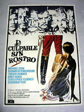 CONDUCT UNBECOMING Orig Movie Poster MICHAEL YORK SUSANNAH YORK TREVOR HOWARD