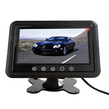 "Ultra-thin 7"" HD 800*480 TFT LCD 2-CH Headrest DVD VCR Car Rear View Monitor"