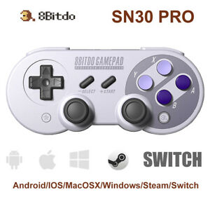 Details about 8Bitdo SN30 PRO Wireless Bluetooth Controller Gamepad for  Android/ iOS/PC/Switch