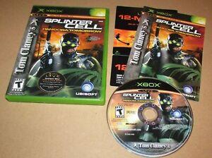 Tom-Clancy-039-s-Splinter-Cell-Pandora-Tomorrow-for-Microsoft-Xbox-Complete