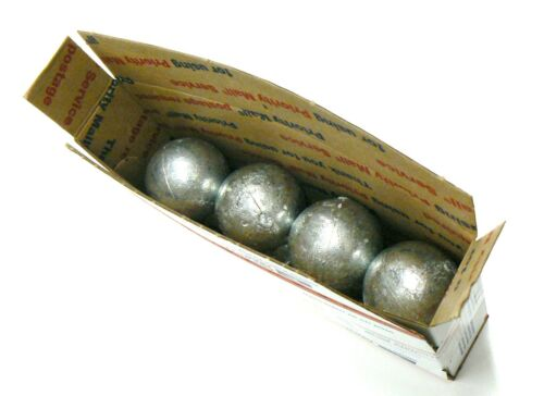 ZINC ANODES 8-LBS 99.9/% PURE ZINC ANODE ROUND 1# BALLS FOR METALS /& ALLOYS METAL