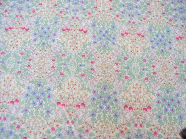 Yuwa Liberty Like Lawn  Stained Glass Design 100% Semi Sheer Cotton Soft Hand