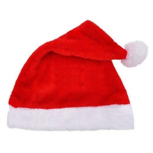 Adulti Novità Babbo Natale Cappello Vestito Festa Ufficio Decorazione