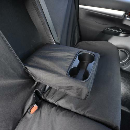 TAILORED FRONT REAR SEAT COVERS 260 261 TOYOTA HILUX ICON /& INVINCIBLE 2017