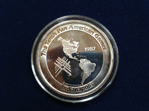 1987 Tenth Pan American Games Indianapolis Indiana Silver