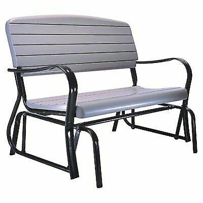 Lifetime 2871 Patio Swing Porch Rocker Glider Bench For