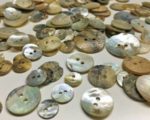 50-1900g Neutral Mother of Pearl Buttons Vintage Shells Sewing Knitting buttons