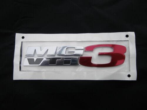 MG3 vti badge mg original unique voiture badge fabricant logo