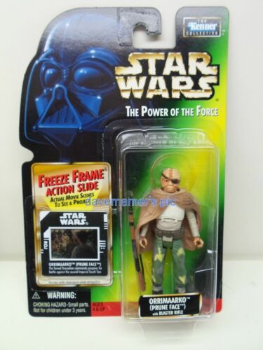 Star Wars Kenner Power of the Force Freeze Frame 1997 1998 Action Figures Sealed