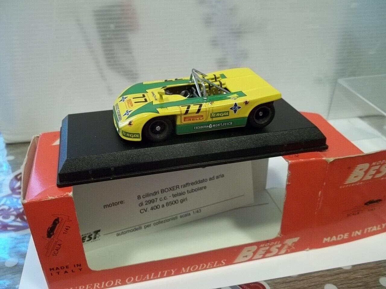 Best sc1 43 Porsche 908 3 Montseny 1972 Fernandez