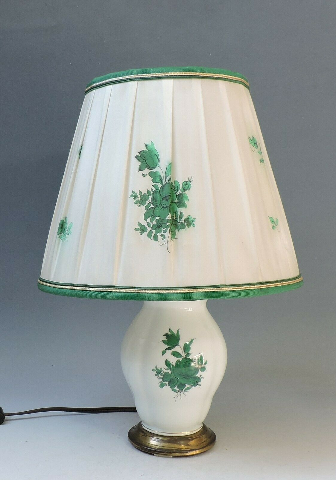 Image 1 - Vienna Augarten Large Table Lamp with Shade-Maria Theresia - 38cm