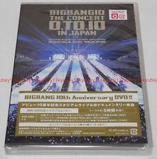 New BIGBANG BIGBANG10 THE CONCERT 0.TO.10 IN JAPAN Regular Edition 2 DVD Card