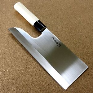 Details About Japanese Masahiro Kitchen Cleaver Noodles Knife 240mm 9 5 Soba Udon Seki Japan