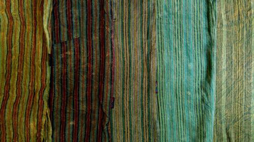 T2 T3 Fair Trade GRINGO Cotone Camicia uomo molti colori Hippy Festival MANDARINO
