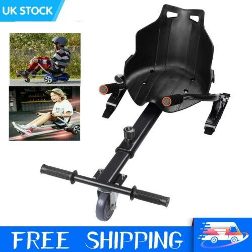 NEW Adjustable Hoverkart Go Kart For Segway Swegway Hoverboard Scooter Black