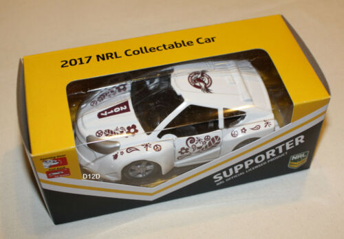 Manly Sea Eagles 2017 NRL Official Supporter Collectable Model Car New