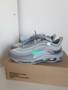 "sports shoes e33ee 3aa2f Details about Off-White x Nike Air Max 97 ""Menta"""