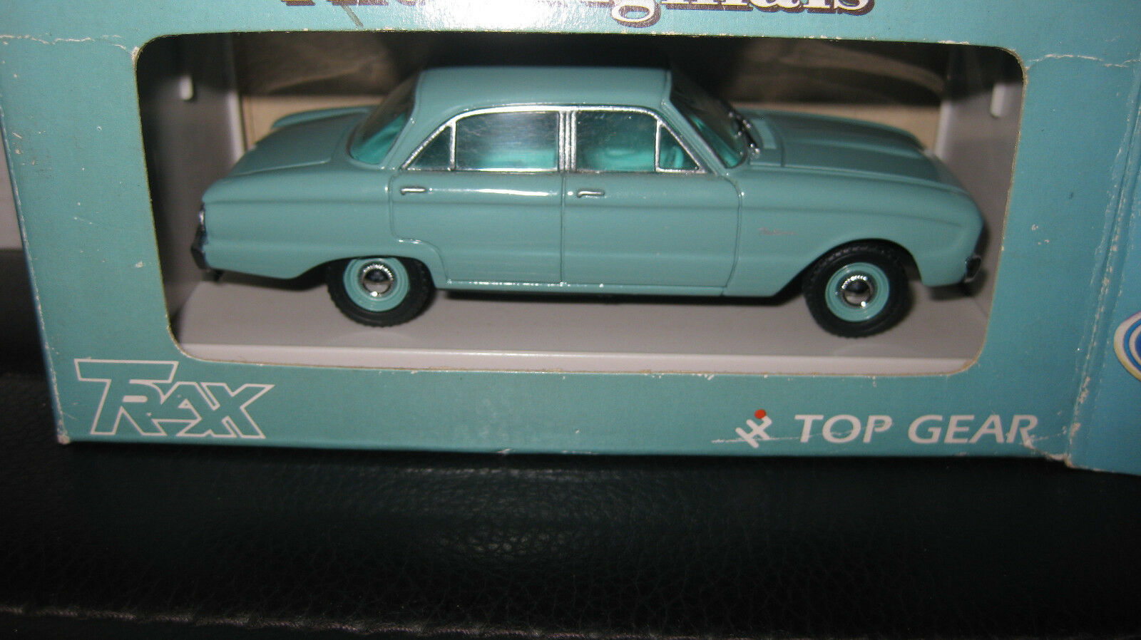 TRAX 1 43 FORD FALCON XK SEDAN BROADMEADOW GREEN  BOXED HARD TO FIND TR26