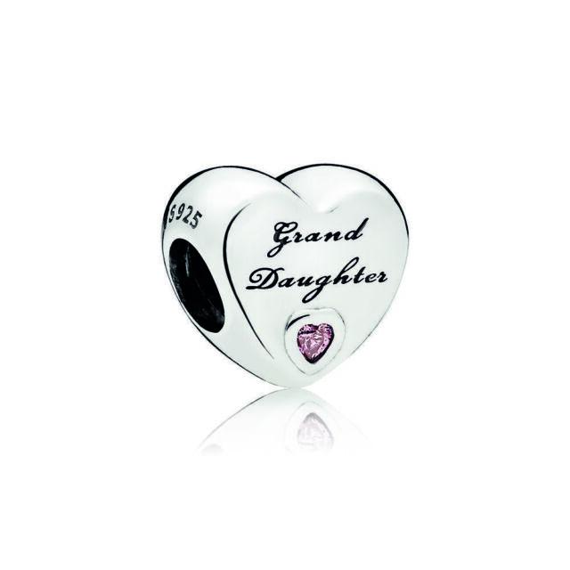 Pandora 796261pcz Granddaughter Heart Charm For Sale Online Ebay