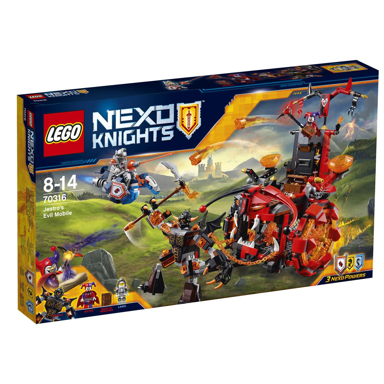 LEGO ® Nexo Knights ™ 70911 dell'Artico bolide del delleprossoe _ jestro's Evil mobile
