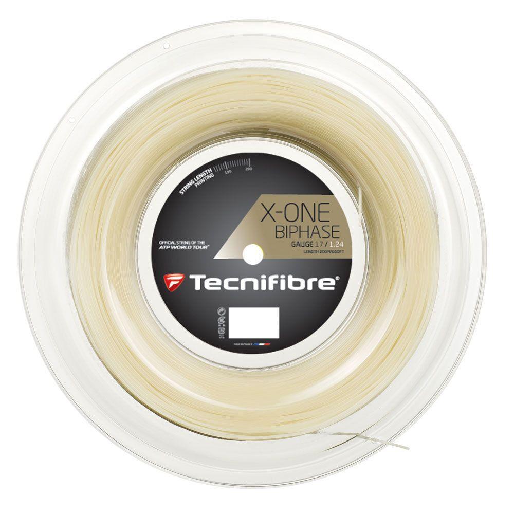 Tecnifibre X-One Biphase Tennis Racquet String Reel 17G