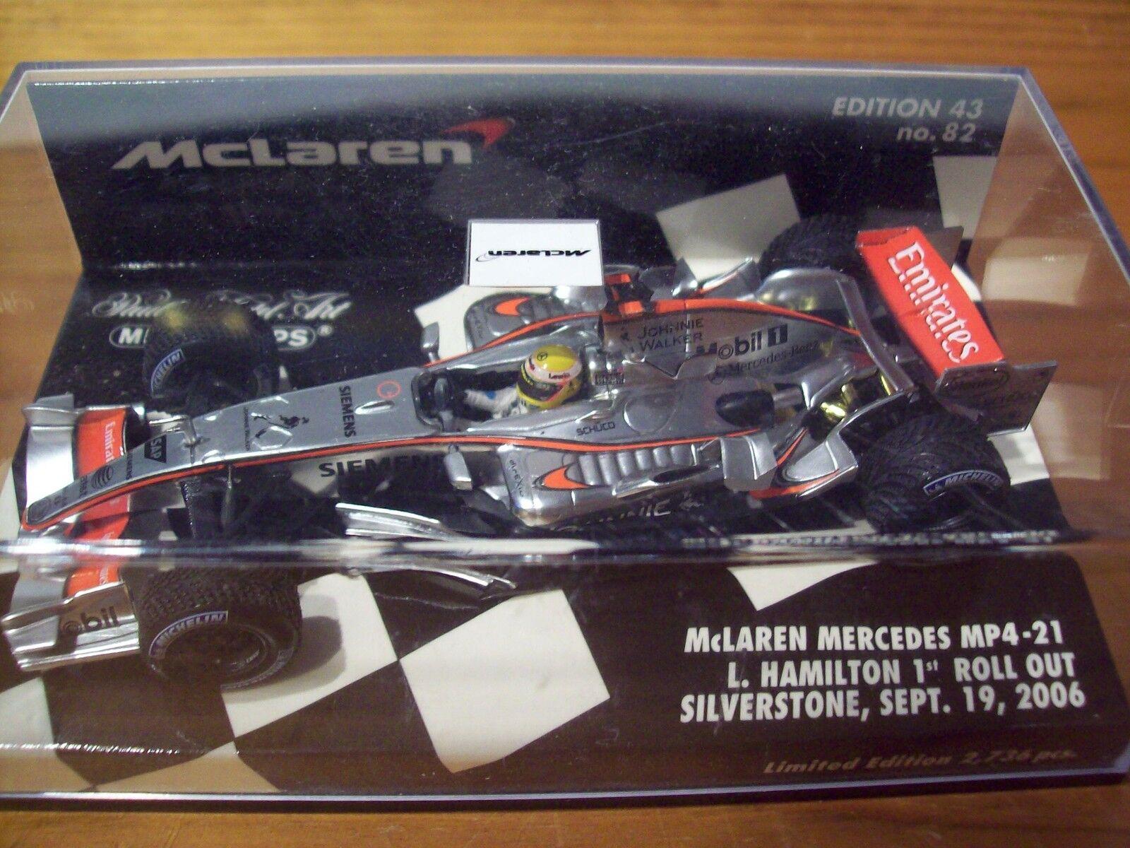 1/43 McLaren 2018 MP4/21 Lewis Hamilton 1st implementar