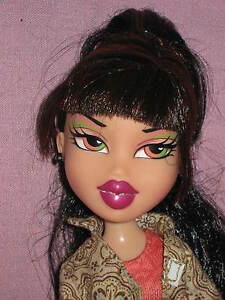 brunette bratz doll pants outfit pink high heels loose ebay