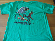 "69TH annuale 2010 BIKE Week DAYTONA Beach, Florida T-shirt Pit PER PIT [21""]"