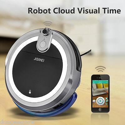 JISIWEI Smart Cleaner Aspirateur Robot avec Caméra APP Télécommande Android IOS