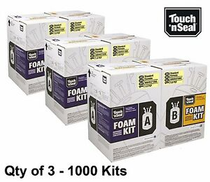 Touch N Seal 1000 Kit Open Cell Spray Foam Insulation Kit