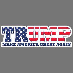Trump Make America Great Again MAGA Vinyl Sticker Car Truck Decal 2020 Political
