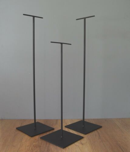 """26/"""" T STYLE METAL DISPLAY STYLE STAND 3LBS-TOP T 6/""""LONG"""