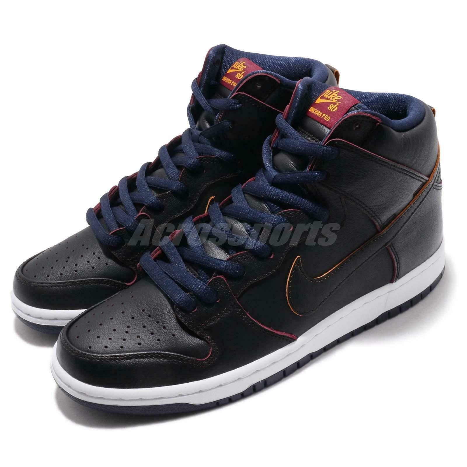 Nike SB Dunk High Pro Pro Pro NBA Cleveland Cavaliers nero Navy Cavs scarpe BQ6392-001 40799a